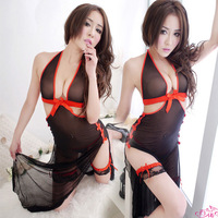 Usuginu full dress deep V-neck multiple set sexy temptation set tight open front milk queen 9 open file free shipping