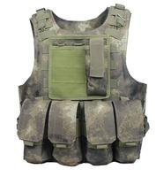 CS Vest Molle Tactical Vest Army fans amphibious vests A-TACS free shipping