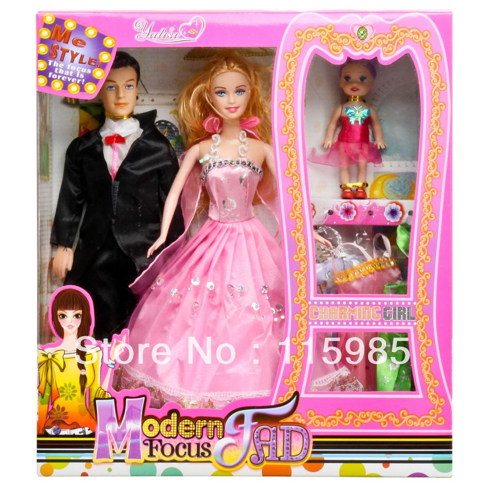 High fashion beauty toys popular modern dolls dress up girl gift dolls