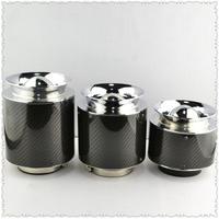 Free shipping hot car carbon fiber air filter intake mushroom variety of optional large / medium / small