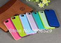 New Hybrid Double Colors Soft Gel TPU Silicone Case Cover for iPhone 5G 5S,10pcs/lot  Free shipping