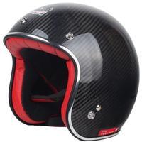 free shipping Tanked Racing Carbon Fiber Motorcycle helmet Jet helmet great quality