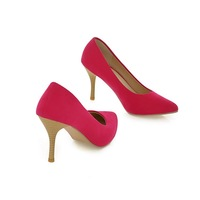 2014 women's spring high-heeled shoes pointed toe sweet sexy fashion women's shoes