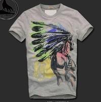 Wholesale Brand Men T-Shirts, Round neck T-shirts, Fashion O-neck T-Shirt Free China Post Shipping.TB-30