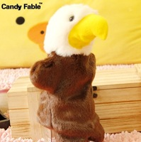 Plush doll animal puppet toy set Large performance props eagle chick  =MrLy100