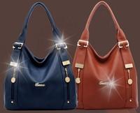 New arrival 2014 genuine leather women's handbag fashion multifunctional handbag one shoulder cowhide cross-body bag big
