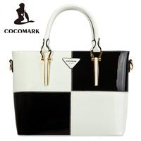 2014 women's fashion handbag japanned leather handbag messenger bag shoulder bag women's bags