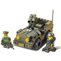 High Quality Children Kids Army Off-road Vehicle Construction Learning Education Bricks Bricks Building Blocks Sets ABS Toys