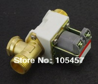 "1/2""BSPP Brass Solar Solenoid Valve 220V N/C Non-Return Water Air Gas"