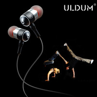 ULDUM perfect original sound earphones in-ear earbuds factory supplier with LOGO