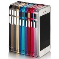 Luxury Screw Metal Aluminum Bumper 0.7mm Ultrathin Bumper Case For iPhone 5 5S 5G With Screw Driver
