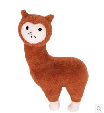 Free Shipping Evolutionary Swallowed Mud Horse Cute Plush Toy Doll Large 30cm Japanese Game Alpaca Novelty Toys Fashion Items(China (Mainland))
