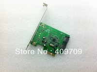 100% HOT SALE  for FREE SHIPPING  SATA3 hard disk expansion card PCI-E expansion card ASM1061  SATA3.0 made in Taiwan