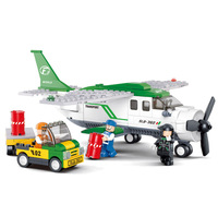 High Quality Children Kids Airfreighter Construction Learning Education Bricks Bricks Building Blocks Sets ABS Toys