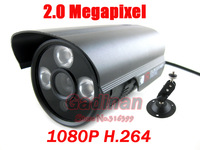Full HD 1080P H.264 2.0 Megapixel onvif  Waterproof Outdoor IR Night Vision Video Security Bullet Network  IP Camera