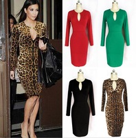 2014 Hot New Fashion Women Dress Sexy Bandage Dress Women's Party Dresses Celebrity Dress S M L XL XXL Plus Size