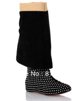 2014 new flat boots for women with fashion diamond Rhinestone ,ladies girls's winter over the knee boots