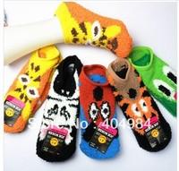 FREE SHIPPING cashmere socks floor socks thickened home women