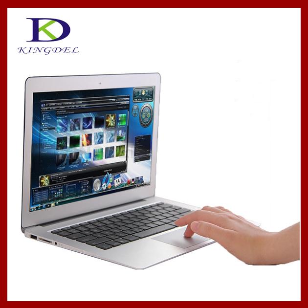 Metal Case Ultra Thin 13.3 inch Laptop, Notebook pc with 2GB RAM, 64GB SSD,Intel Celeron 1037U Dual Core 1.80Ghz, WIFI, Webcam(Hong Kong)
