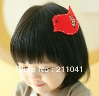 Wholesale lovely kids Baby accessories children girls hair ornaments hair clips bows bird hairclip  GHN-0042