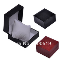 JW516 Wholesales18opcs/lot High Quality Brand Watch Boxes Black Red Colors Wood Material Boxes
