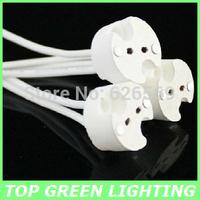 5 x LED Light Bulb 12V Lamp Holder for LED MR16/GU5.3/MR11/G4/GX53 Base Lamp Socket 12V Connector Light Base with 10cm Wire