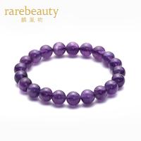 Lin phoenix natural amethyst bracelet single tier 20 bracelets lucky shemist Women accessories