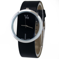 Free Shipping! Black Hot Sale Women Ladies Girls Fashion Dress Business Analog Quartz Wrist Hand Watches