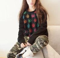 HP-11 Multicolour 2014 Street skateboard Hip hop sweatshirt Vintage Casual sweatshirt Women sportswear Harajuku shirt