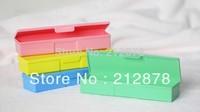 Plastic Storage Box Pencil Case Jewelry Box Medicine Case