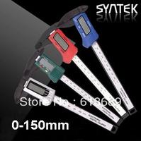 free shipping 160mm 6 inch Digital lcd CALIPER VERNIER MICROMETER digital calliper retail and wholesale drop shipping