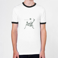 Soccer To Smash Newest 100% Cotton Short Sleeve Mens Tshirt  Wholasale And Retail