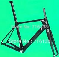 (FR315) Full Carbon 3K Glossy Road Bike Bicycle Frameset  ( BSA )  Frame Fork Seatpost Clamp Headset
