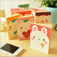 Min.order is $5 Stationery Cute Mini Animal Cartoon Diary Book/Notepad/Notebook/Memopad School Office Promotion Gifts 12.5*9cm