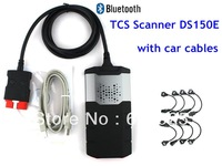 Quality A+++ Diagnostic Tool 2014.2 TCS CDP DS150E New VCI for Cars and Trucks with Bluetooth and truck cables