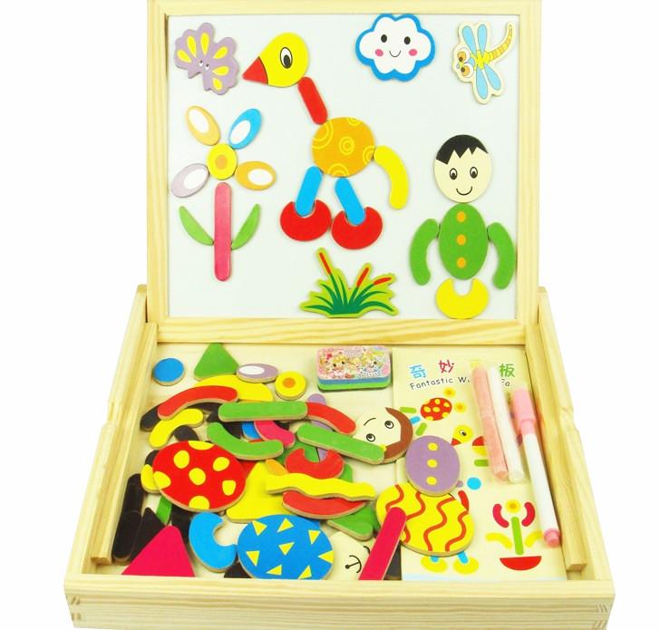 Детская игрушка на доске