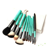 2014 Hot Selling Professional Natural Goat Hair Makeup Brushes Set Cosmetic Brushes Kit