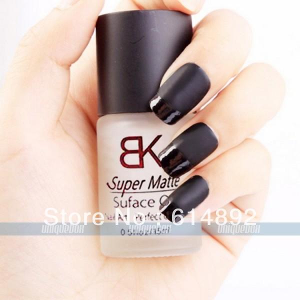 Free shipping! 2pcs/lot 15ml Supper Matte Dull Effect Changing Surface Oil Polish Nail Art New(China (Mainland))