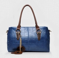 Women's Brand POLO 2014 New genuine leather handbag big vintage shoulder bag Women Leather message handbag