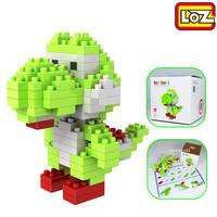 Super Mairo Yoshi LOZ Diamond Nano Mini Building Blocks Enlighten Bricks Gift