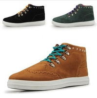 Wholesale Korean version of the influx of men's fashion casual shoes high shoes warm Ethnic shipping