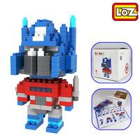 Optimus Prime LOZ Diamond Nano Mini Building Blocks Enlighten Bricks Gift Figure