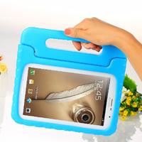 2pcs/lot Durable Kids Children Carefree Safe Shockproof Soft EVA Foam Handle Stand Case Cover For Samsung GT - N5100 5110