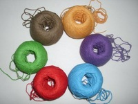 5*1.5mm*100m colorful hemp rope hemp cord 4 colors free shipping NEW photo clip tag cord
