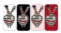 Exclusive Cute Rabbit Plastic Case for iPhone 4 4S 5 5S