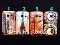 Fashion London Big Ben Eiffel Tower Hard Plastic Case For Samsung Galaxy S6102 6102 Promotional price