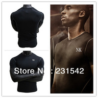 2014 Free Shipping Brand Sports Apparel Mens Running Fitness Short Sleeve Top Sports T Shirts Gym Quick Dry High Quality