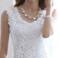 High quality women spaghetti strap vest ladies basic sleeveless top plus size lace spaghetti strap tank top shirt