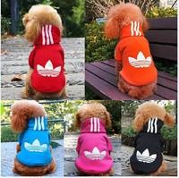New Design Dog Clothes Winter Jumper Small&Medium&Large Jacket Pet Hoodie Warmly Dog Clothing Promotion,Free Shipping