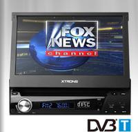 "7"" Single Din Car DVD Car GPS One Din Car Radio with built in MPEG2 DVB-T Digital TV Function & Windows 8 Metro-style Interface"